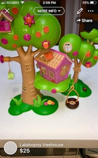 Lalaloopsy treehouse  London, N5W 1E8