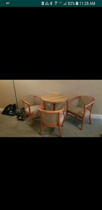 two brown wooden framed chairs Atlantic Beach, 28512