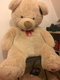 brown and red bear plush toy London, W5 3DH