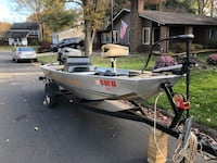 Bass tracker Boat 1985   25 hp Mercury Sterling, 20164