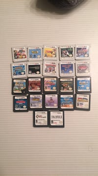 Nintendo 3ds and ds games 547 km
