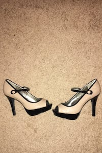 New, never used. Style and Co. peep toe sandals. Size 5.5