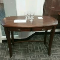 Wood  desk four points  Oakville, L6L 5N1