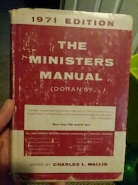 The Ministers Manual  Bristol, 37620