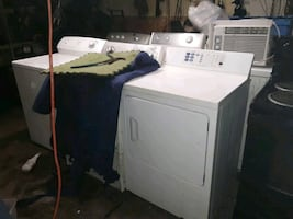 Washers and dryers gas and electric dryers starting at a 100$