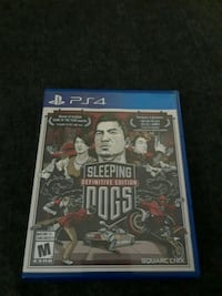 Sleeping Dogs PS4 Toronto, M9W 5Z3