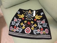 Embroidered skirt - never used Falls Church