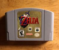 CLASSIC Nintendo 64 Video Game - The Legend of Zelda Ocarina of Time Lowell, 01852