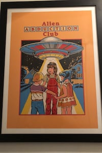 Alien Abduction Poster- like new condition Baltimore, 21201