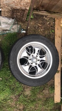 "6 bolt 20"" rims with rubber came off my 03 Silverado Surrey, V3W 5A3"