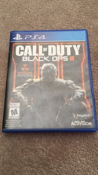 Call of Duty Black Ops 3 PS4 game case New Westminster, V3M 1Y3