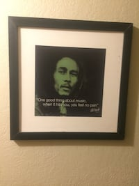Bob Marley quote framed picture Oklahoma City, 73159