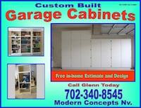 Garage Cabinets for Sale- CALL FOR YOUR FREE ESTIM Las Vegas
