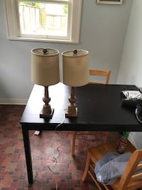 Set of 2 matching lamps perfect condition  Seattle, 98115