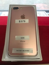 iPhone 7 Plus 32GB Factory Unlocked Rose Gold mint like nw  New York, 10455