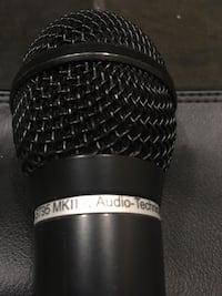 Audio technica cardiod  microphone Edmonton, T5K 1Z6