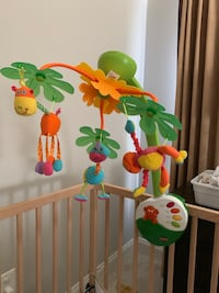 Tiny love baby music mobile, very good condition 18 km