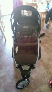 baby's black and gray Graco stroller Omaha, 68135