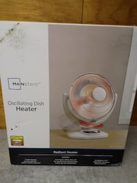 Infrared Dish Heater, Parabolic Electric Heater, Radiant Heater, Brand New! Edmonton