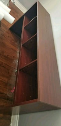 brown wooden 5-layer shelf Montréal, H1R 2V7