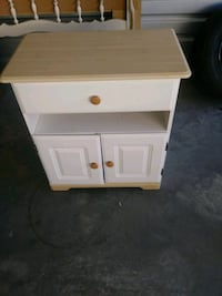 Microwave stand/Storage cabinet