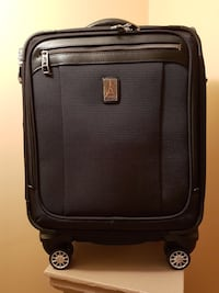 black and gray softside luggage Vancouver, V5Y 1P8