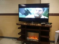60 inch RCA and Fireplace TV stand Norfolk, 23503