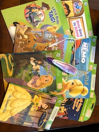 Leap frog tag pen and books London