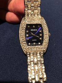 Ladies Geneva Rhinestone covered watch Rockville, 20851