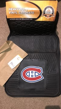 Montreal Canadiens car mats