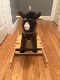 Melissa and Doug rocking horse