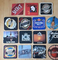 15 Vintage Labatts Coasters Pickup in Newmarket 581 km