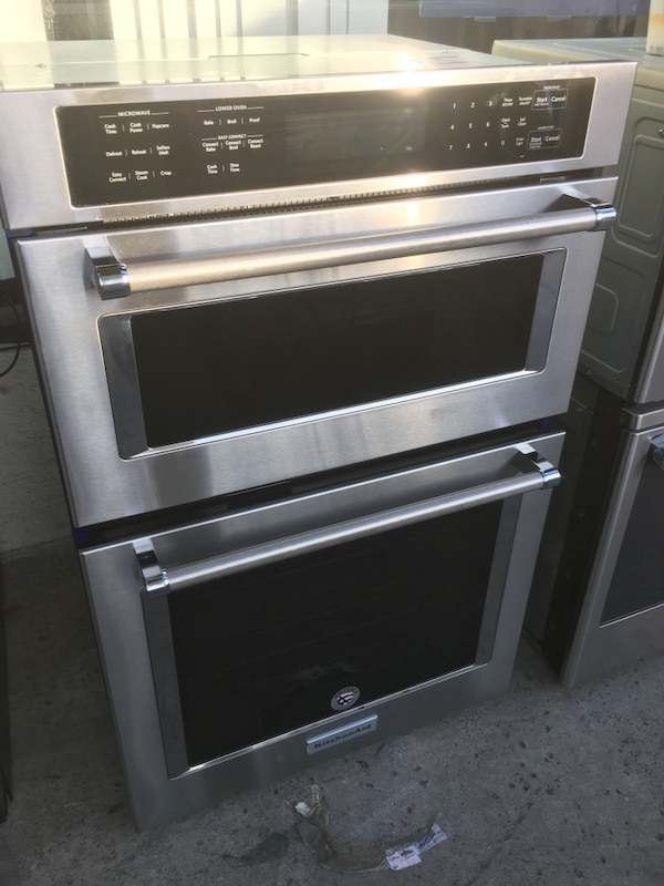 27 Kitchenaid Microwave Oven Combo Stainless Steel