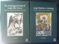 2 softcover books by liz Greene jung's astrology + Woodstock, 22664