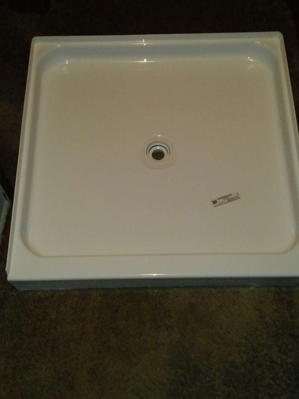 Used 32x32 Shower Base 32x80 Hollow Core Interior Door For Sale In