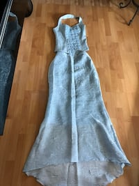 Sky blue long skirt with top North Vancouver