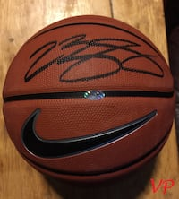 LEBRON JAMES Signed Cleveland Cavaliers Official Nike Basketball