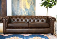New leather sofa Airdrie, T4B 3W3