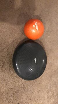 two red and black ball toys 35 km