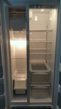 WHITE GE SIDE BY SIDE Refrigerator Anniston, 36201