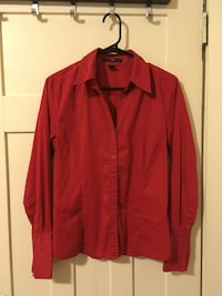 Red Women's Dress Shirt  Vancouver, V6G 2C9