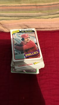 About 120 baseball cards from 1979's and a few football cards Silver Spring, 20902