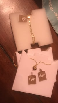 Gold Bracelet / Necklace 10k Alamo, 78516