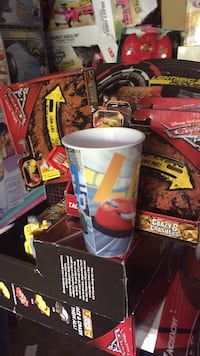 Cars3 racetrack bus 4 cars placemat n cup Chattanooga, 37421