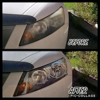 Car headlight restoration Toronto, M1L