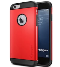 Apple iPhone 6/6s Spigen Tough Armor Case - Red