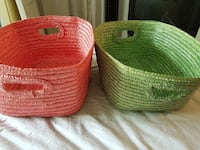2 medium sized baskets Montreal, H4H 2R4