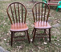 Two antique big kids chairs  Fairfax, 22032
