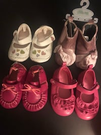 Baby Shoes-Sizes 0-12mos