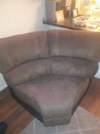 black and brown corner sofa Las Vegas, 89119